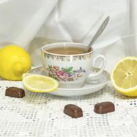Чай с лимоном.