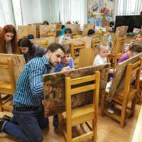 На мастер-классе Сергея Андрияки