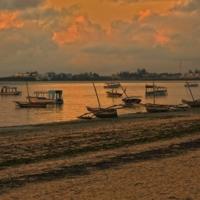 Рассвет на Индийском океане