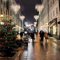 Москва. Столешников переулок.