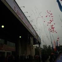 салют шарами в день города