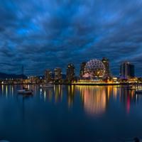 Ночь в Ванкувере