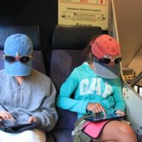 В поезде Балтімор-Вашінгтон
