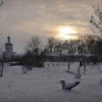 Угрюмая зимняя тишь