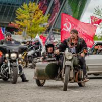 Мотопробег в честь Дня Победы