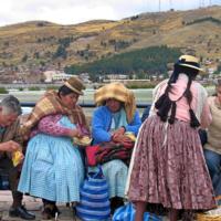 Обед индейцев кечуа