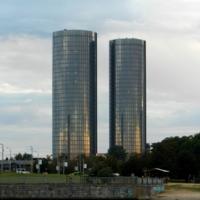 Рижские башни-близнецы