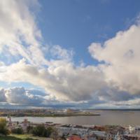 Место соединения облаков и рек