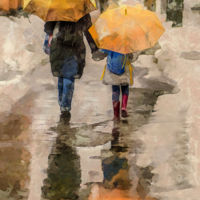Два зонта