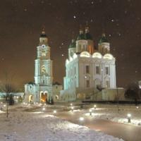 Успенский собор и Пречистенские ворота