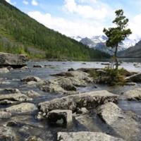 Среднее Мультинское озеро. Алтай