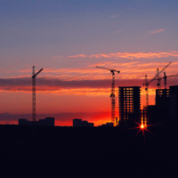Закат над Челябинском