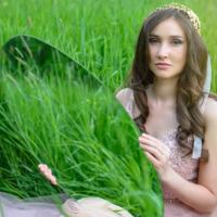 В траве