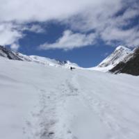 Маленький человек на Большом леднике Актру