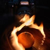 Огненное фото
