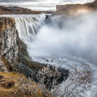 Седой и хмурый исландец