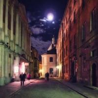 Ночь в старом городе