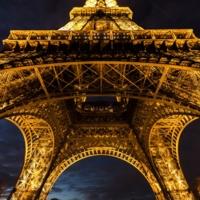Ночь в Париже