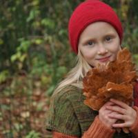 Портрет с дубовыми листьями