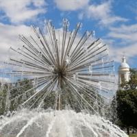Фонтан в Санкт-Петербурге 2021
