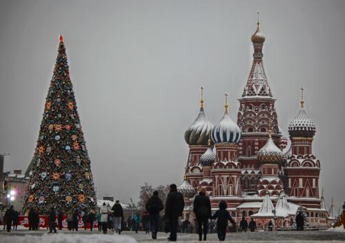 Москва Новогодняя...!!!