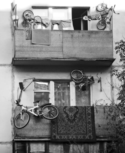 Как хранить велосипед.