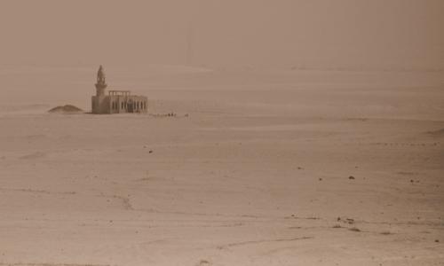 затеряная в пустыне