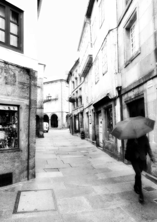 В тиши дождливых переулков