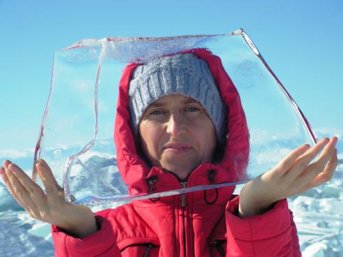Вода Байкала была прозрачной