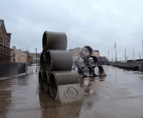 Дождь в квартале Спикери