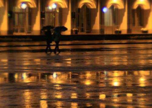 В городе жёлтых фонарей